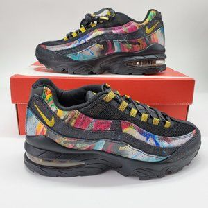 "Nike Air Max 95 GS ""Caribana"" Running Shoes"